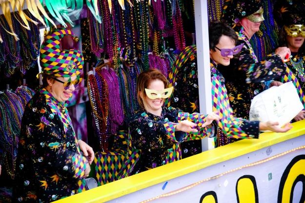 Mardi Gras in Lake Charles
