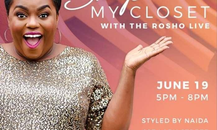 "Columbia Fashion Week: Night 2 ""Shop My Closet With Rosho Live"""