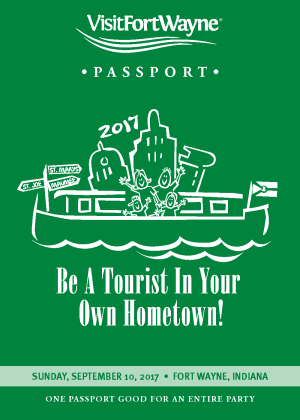 Be A Tourist In Your Own Hometown - 2017 Passport Cover