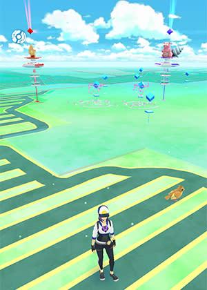 Attractions - Pokemon Go