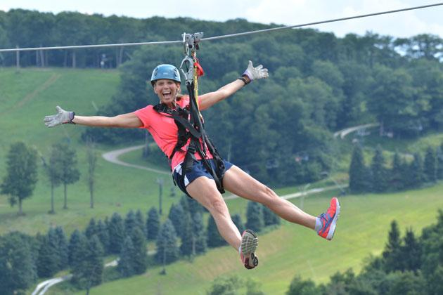 Zip Line Laurel Highlands
