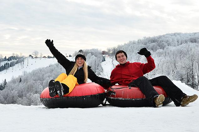 Seven Springs Mountain Resort Snow Tubing