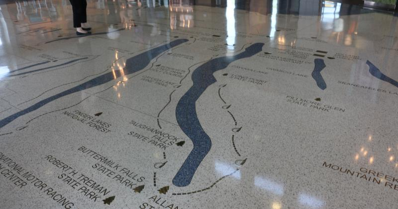finger-lakes-welcome-center-floor-ontario-county