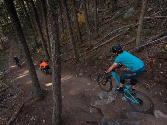 Yeti Cycles on Apex Trail