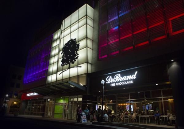 Downtown DeBrand at Night
