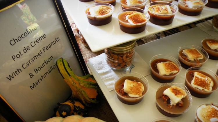 Copy of Chocolate Pot de Creme at TerraVita