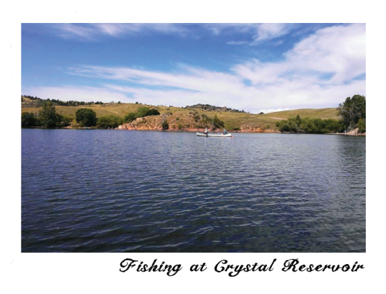 On the water at crystal resevoir
