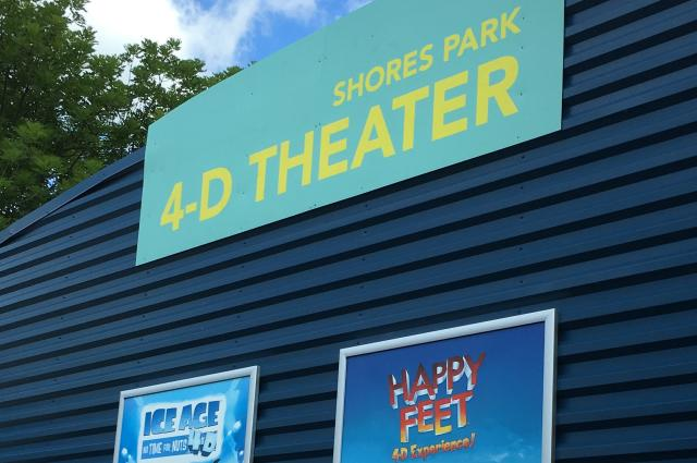 4-D Theater at the Zoo