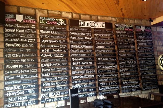 Pint Room Craft Beers