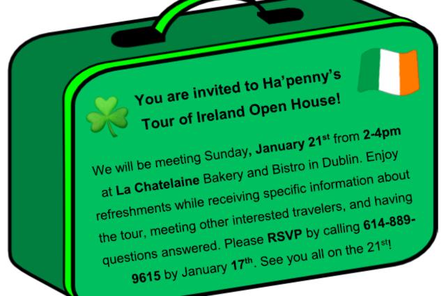 Ha'penny Tour Meeting
