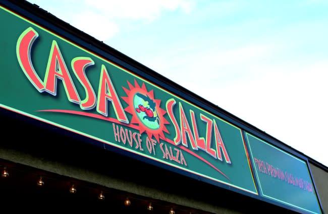 Casa Salza Outside