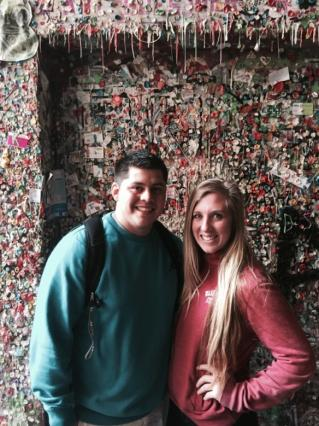 A Perfect Seattle Day Gum Wall