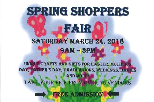 13th Annual Spring Shoppers Fair