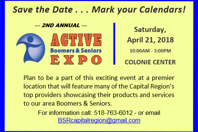 2nd Annual Active Boomers & Seniors Expo