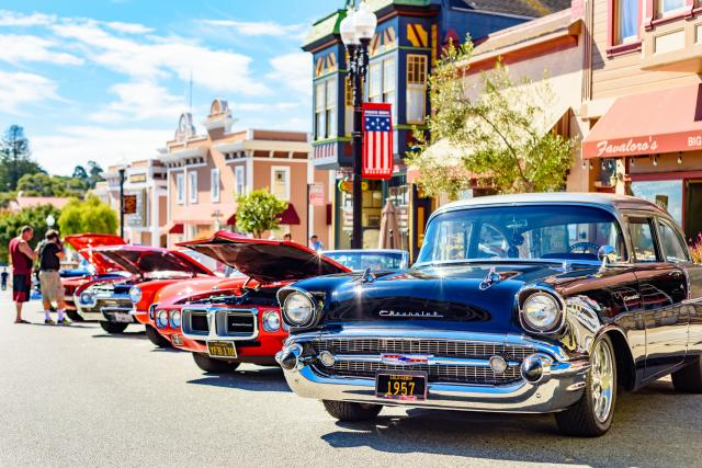 Pacific Grove Car Show