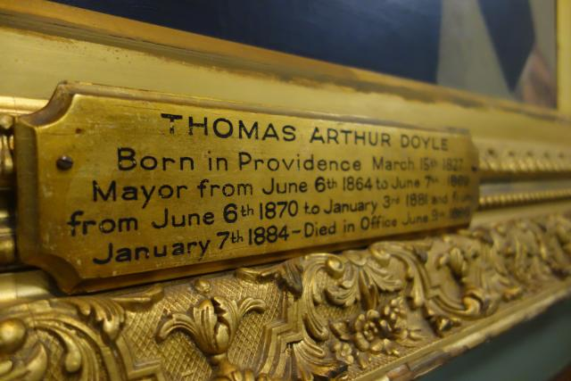Thomas Doyle Plaque