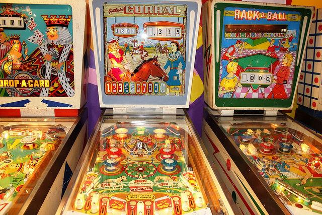 Roanoke Pinball Museum in Virginia's Blue Ridge