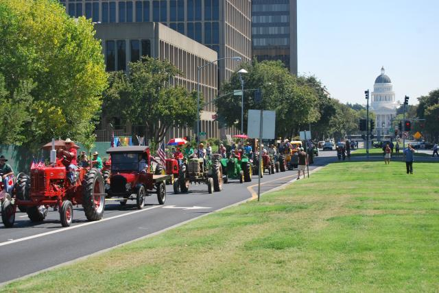 Tractor Parade kicks off farm-to-fork Celebration in Sacramento, America's Farm-to-Fork Capital