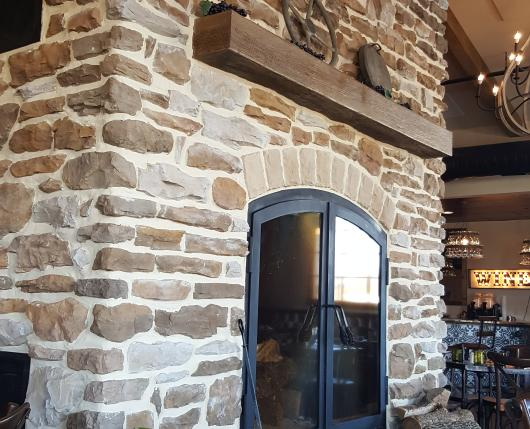 Folino Estate - Fireplace