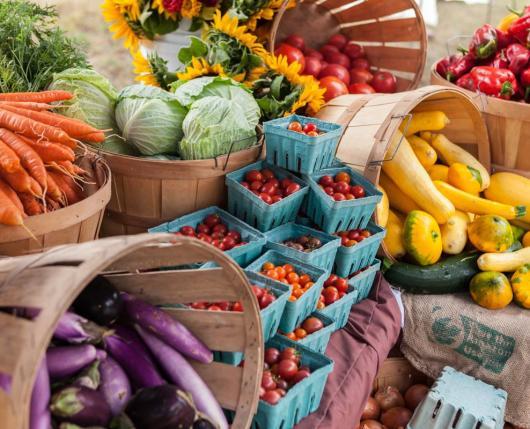 Fresh Produce at Rodale