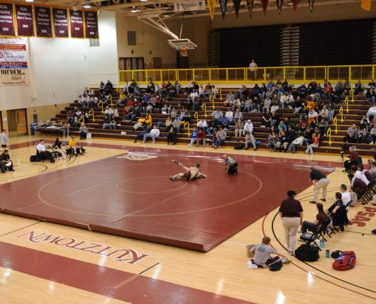 Kutztown University Keystone Hall Wrestling
