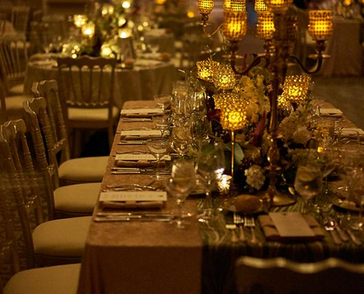 Tablescape at Vault 634 Events