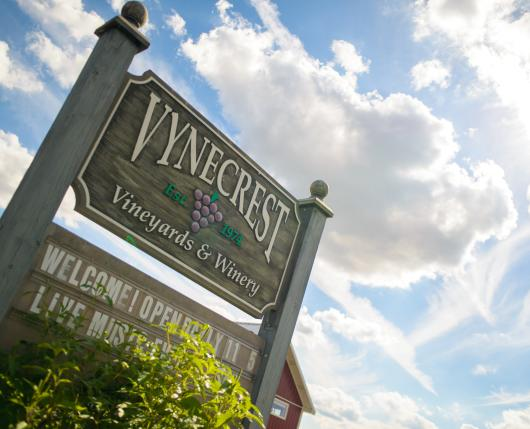 Vynecrest - Signage