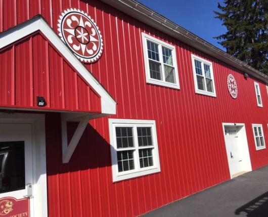 Camp Olympic barn