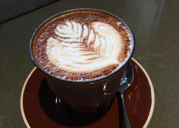 Mocha at Campos Coffee