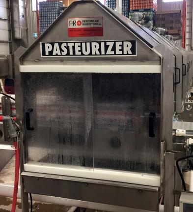 The Farmery Brewery Estate Pasteurizer