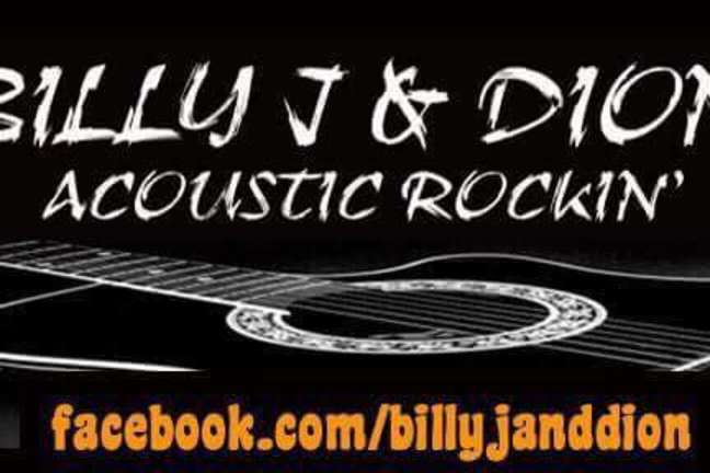 Billy J & Dion- Live at Cinderella's