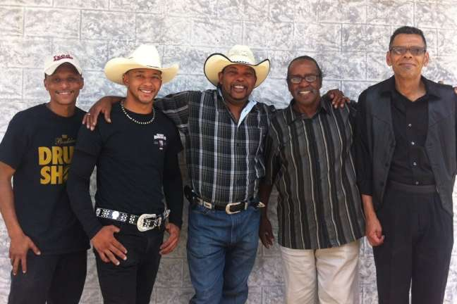 Jeffery Broussard and the Creole Cowboys
