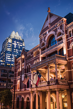 Driskill Hotel Photo Credit Austin Convention & Visitors Bureau