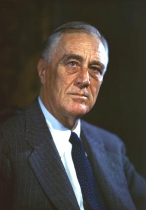 FDR portrait - color