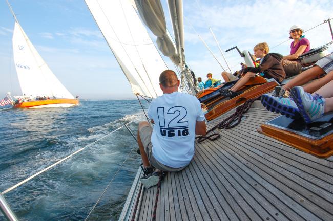 12 Meter Sailing