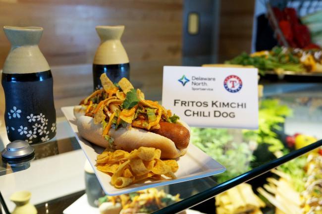 kimchi dog