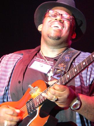 Performance at the Riverfront Blues Festival in Wilmington, Delaware