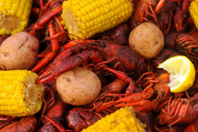 Hot Boiled Crawfish