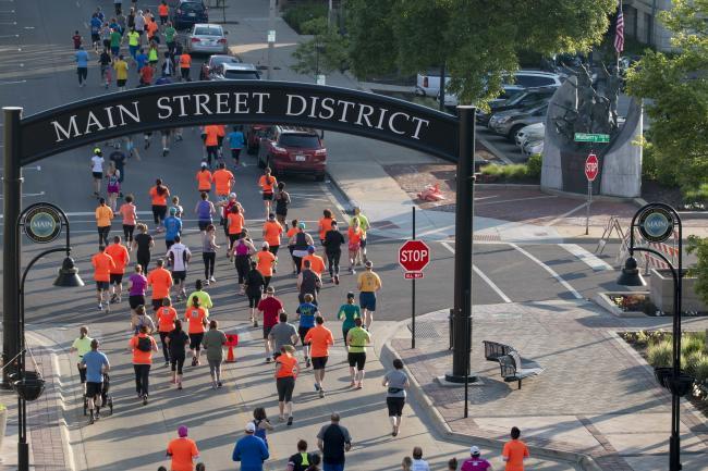 Rockford Marathon on Main Street