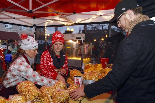 stroll on state vendor popcorn