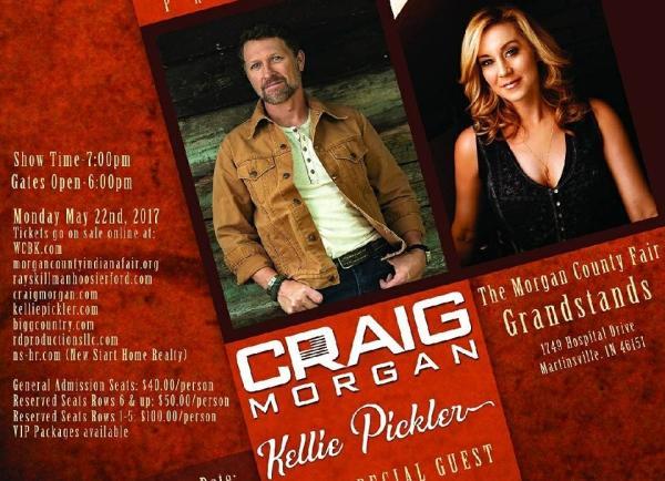 Craig Morgan & Kellie Pickler Concert
