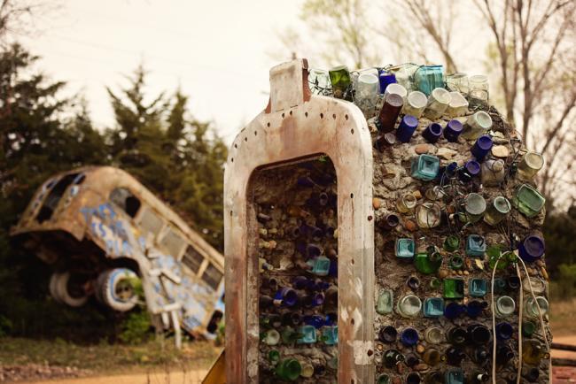 truckhenge bottles