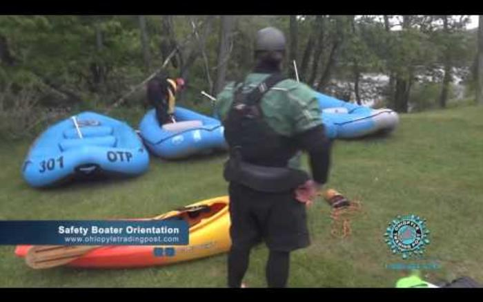Upper Yough Rafting Orientation with Ohiopyle Trading Post and River Tours