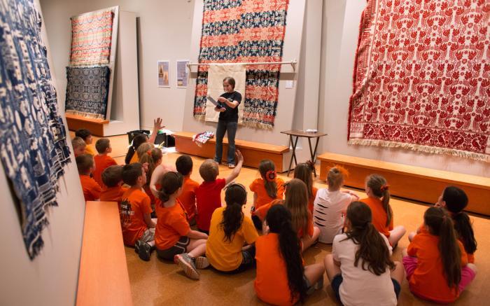 School Visit to the Mccarl Gallery
