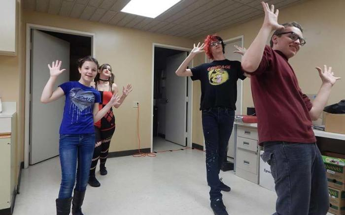 Nicholson-Rosenberger Project Talent Theatre Workshops