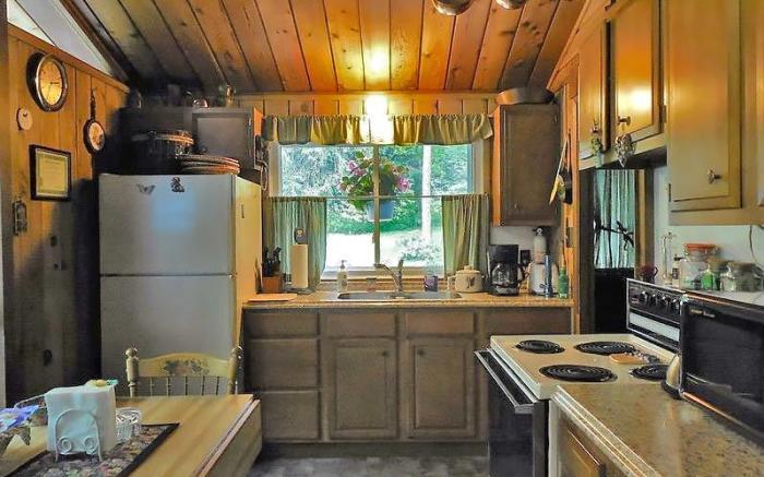 Mountain Chalet Kitchen