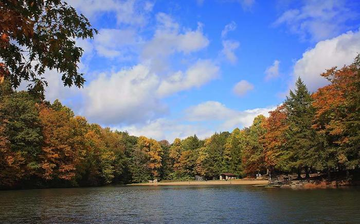 Kooser Lake in Fall - Photo Credit: Christy Marrow
