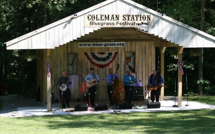 Coleman Station Bluegrass Festival 2