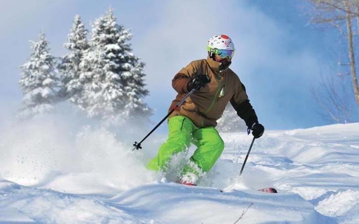 Incredible skiing at Seven Springs