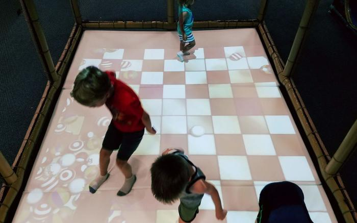 EyePlay Interactive Game Floor